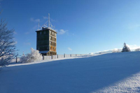 Fernmeldeturm am Großen Inselsberg