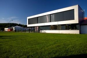 Ansicht Bürogebäude Sklarz